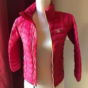 Girls lightweight down coat by Mountain Hardwear
